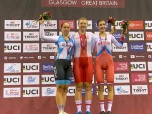 Karolina Karasiewicz zwyciężyła scratch na zawodach Pucharu Świata w Glasgow