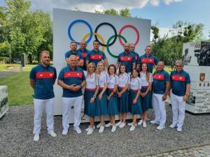 Reprezentacja olimpijczyków kolarstwa torowego na  IO Tokio 2021